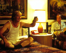Randy Quaid & Woody Harrelson in Kingpin Poster and Photo