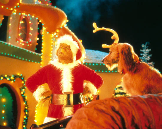 How The Grinch Stole Christmas Jim Carrey.Jim Carrey In Dr Seuss How The Grinch Stole Christmas Akathe Grinch Aka How The Grinch Stole Christmas Premium Photograph And Poster 1007904