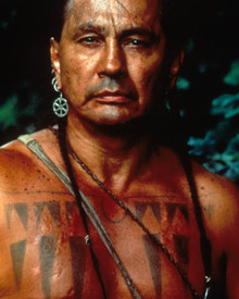 Russell Means in Last of the Mohicans Poster and Photo