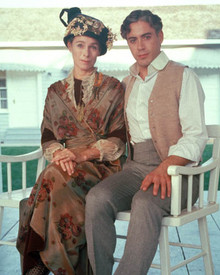 Robert Downey Jr. & Geraldine Chaplin in Chaplin Poster and Photo
