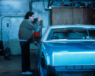 Carol Kane & Richard Masur in License to Drive aka License to Drive Daddy's Cadillac Poster and Photo