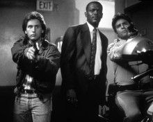 Emilio Estevez & Samuel L. Jackson in National Lampoon's Loaded Weapon Poster and Photo