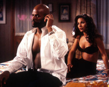 Keenan Ivory Wayans & Salli Richardson in Low Down Dirty Shame Poster and Photo