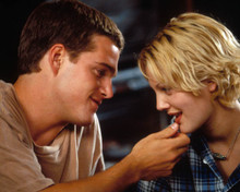 Chris O'Donnell & Drew Barrymore in Mad Love Poster and Photo