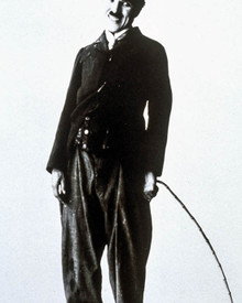 Charles Chaplin in The Tramp Poster and Photo