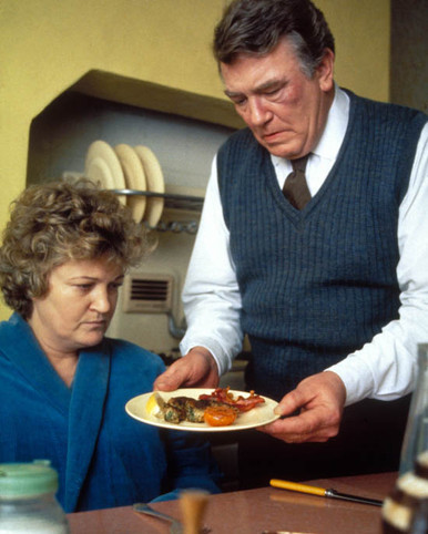Albert Finney & Brenda Fricker in A Man of No Importance Poster and Photo