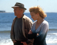 Robin Wright Penn & Paul Newman in Message in a Bottle Poster and Photo