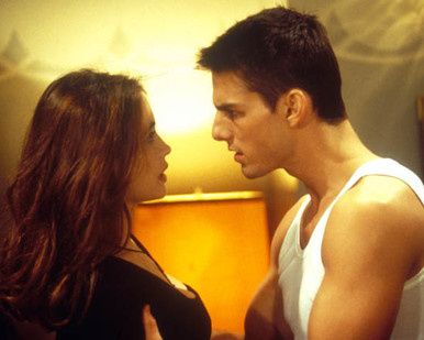 Tom Cruise & Emmanuelle Beart in Mission Impossible (1996) Poster and Photo