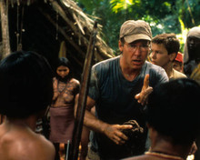 Harrison Ford & River Phoenix in The Mosquito Coast Poster and Photo