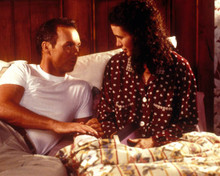Michael Keaton & Andie MacDowell in Multiplicity Poster and Photo