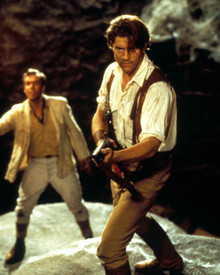 Brendan Fraser & John Hannah in The Mummy (1999) Poster and Photo
