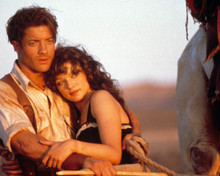 Brendan Fraser & Rachel Weisz in The Mummy (1999) Poster and Photo