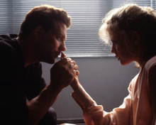 Kim Basinger & Mickey Rourke in Nine and a Half Weeks Poster and Photo