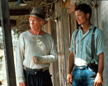 John Malkovich & Gary Sinise in Of Mice and Men Poster and Photo