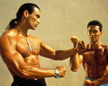 Mark Dacascos in Only the Strong Poster and Photo