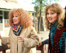Bette Midler & Shelley Long in Outrageous Fortune Poster and Photo