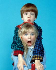 Michael Oliver & Ivyann Schwan in Problem Child 2 Poster and Photo
