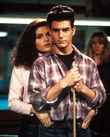Tom Cruise & Mary Elizabeth Mastrantonio in The Color of Money Poster and Photo