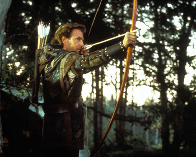 Kevin Costner in Robin Hood : Prince of Thieves Poster and Photo