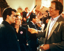 Clint Eastwood & Charlie Sheen in The Rookie Poster and Photo