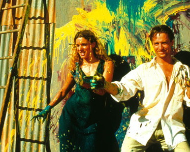 Linus Roache & Danielle Cormack in Siam Sunset Poster and Photo