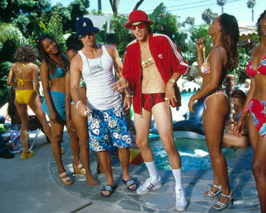 Ashton Kutcher & Seann William Scott in Dude, Where's My Car Poster and Photo