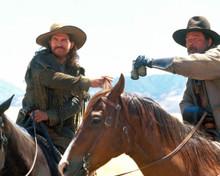 Jeff Bridges & James Gammon in Wild Bill Poster and Photo