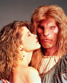 Ron Perlman & Linda Hamilton in Beauty and the Beast (1987) Poster and Photo