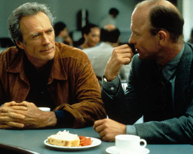 Clint Eastwood & Ed Harris in Absolute Power Poster and Photo
