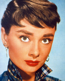 Audrey Hepburn in Roman Holiday aka Vacances Romaines Poster and Photo
