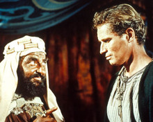 Charlton Heston & Hugh Griffith in Ben-Hur Poster and Photo