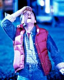 Michael J. Fox in Back to the Future Poster and Photo