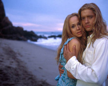 Brendan Fraser & Frances O'Connor in Bedazzled (2000) Poster and Photo