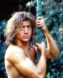 Brendan Fraser in George of the Jungle Poster and Photo