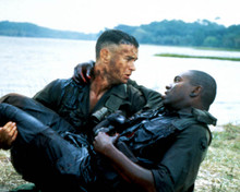 Tom Hanks & Mykelti Williamson in Forrest Gump Poster and Photo