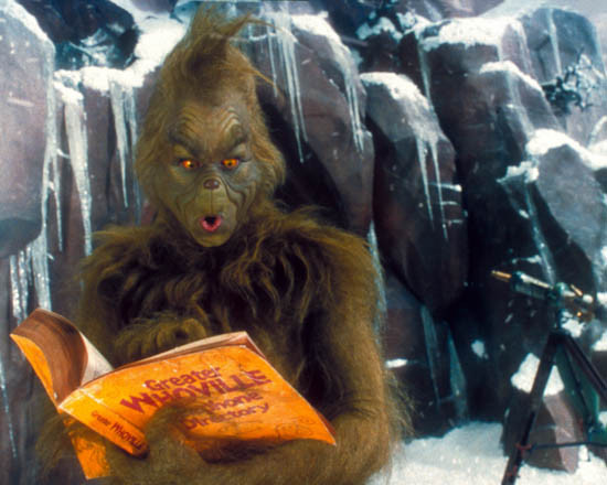 How The Grinch Stole Christmas Jim Carrey.Jim Carrey In Dr Seuss How The Grinch Stole Christmas Akathe Grinch Aka How The Grinch Stole Christmas Premium Photograph And Poster 1017577
