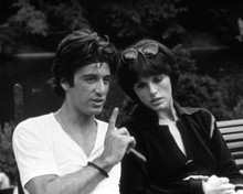 Al Pacino & Anny Duperey in Bobby Deerfield Poster and Photo
