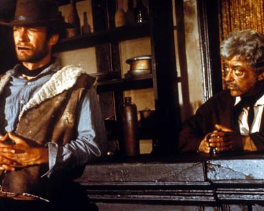 Clint Eastwood & Gian Maria Volonte in A Fistful of Dollars aka Per un pugno di dollari Poster and Photo