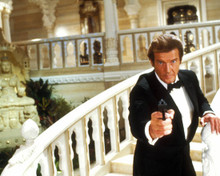 Roger Moore in Octopussy Poster and Photo