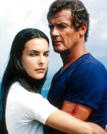 Roger Moore & Carole Bouquet in For Your Eyes Only Poster and Photo
