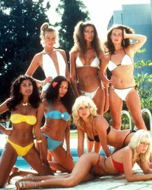 Bond Girls in For Your Eyes Only Poster and Photo