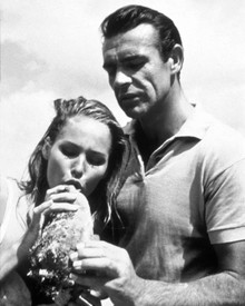 Sean Connery & Ursula Andress in Dr. No Poster and Photo