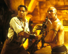 Brendan Fraser in The Mummy Returns Poster and Photo