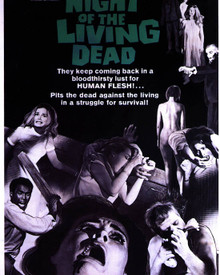 Poster & Judith O'Dea in Night of the Living Dead (1968) Poster and Photo