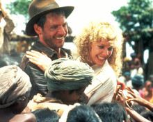 Harrison Ford & Kate Capshaw in Indiana Jones and the Temple of Doom Poster and Photo