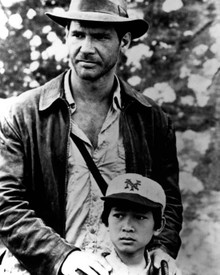 Harrison Ford & Jonathan Ke Quan in Indiana Jones and the Temple of Doom Poster and Photo
