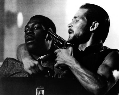 Eddie Murphy & James Remar in 48 Hours Poster and Photo
