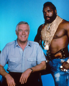 George Peppard & Mr. T in The A-Team Poster and Photo