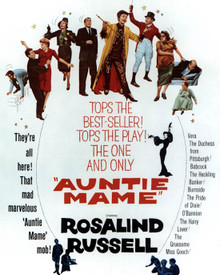 Poster of Auntie Mame Poster and Photo