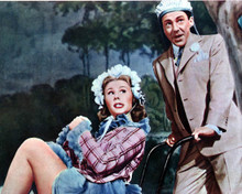 Mitzi Gaynor & David Wayne in The I Don't Care Girl Poster and Photo